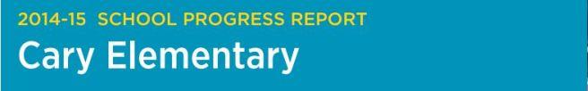 CaryElementaryProgressReport_2015