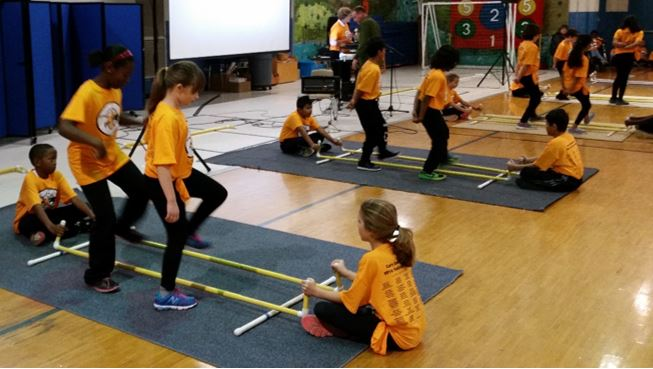 Cary Elementary Tinikling Team