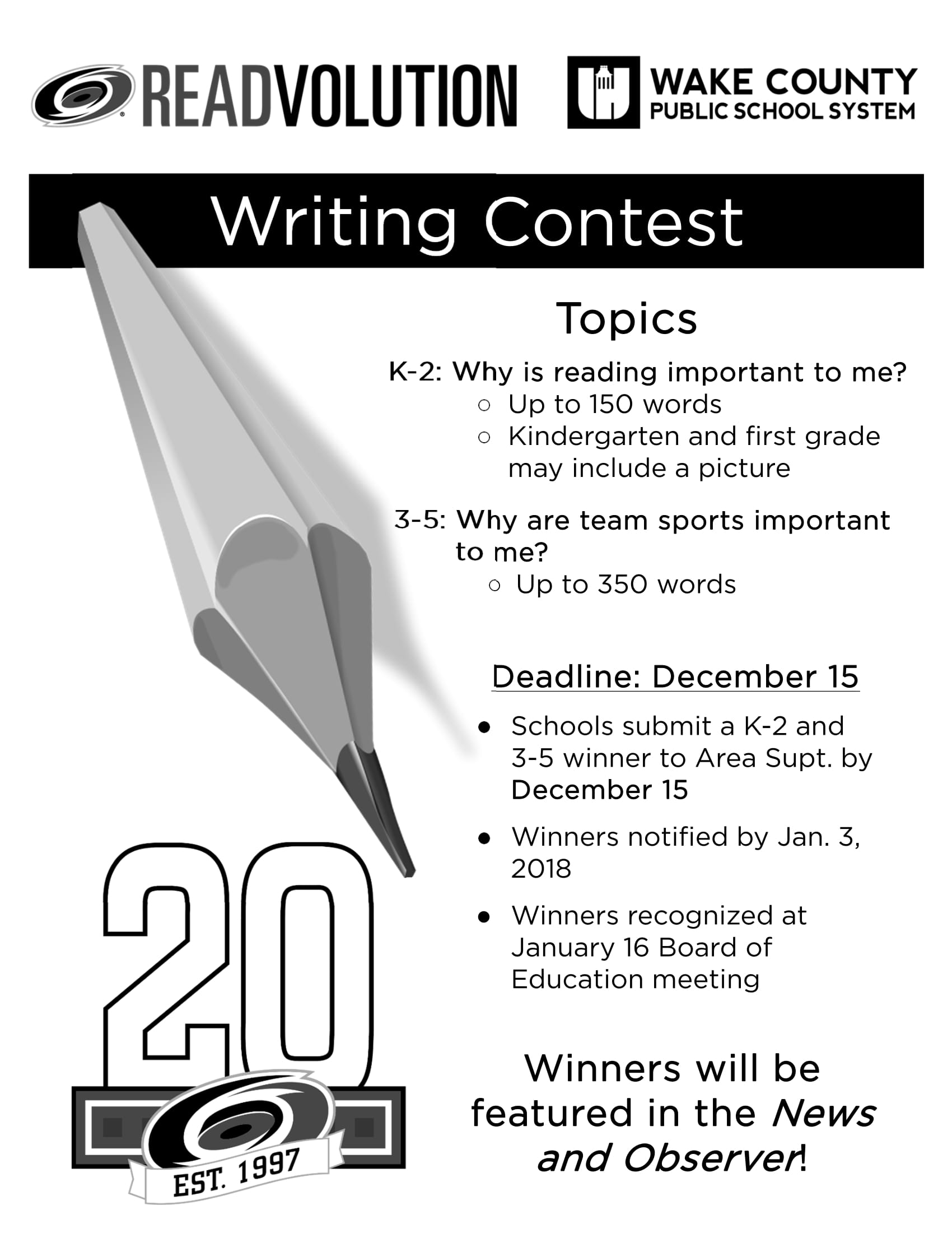 amateur writing contests Discover reputable writing contests available to fiction and non-fiction writers in 2018, including short stories, poetry, and essays vetted and updated weekly.